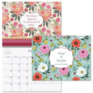 2020 Keep it Simple Wall Calendar