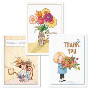 Mary Engelbreit's Thank You Note Cards