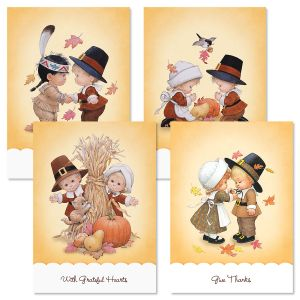 Morehead Charmers Thanksgiving Cards