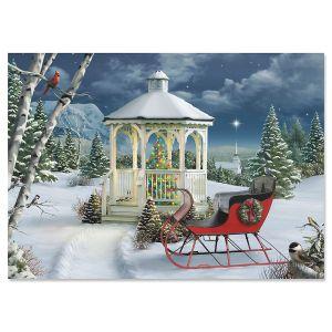 Season of Peace Religious Christmas Cards