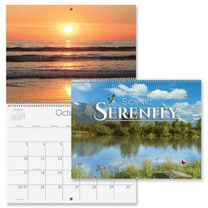 2021 Scenic Serenity Wall Calendar