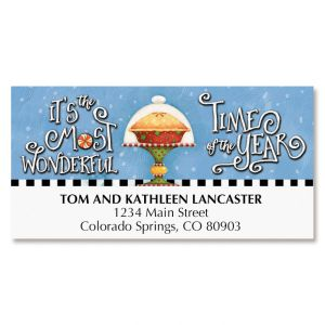 Christmas Goodies Deluxe Address Labels