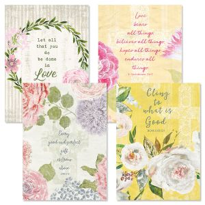 Faithful Floral Anniversary Cards and Seals