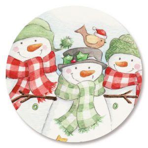 Snowmen Trio Seals