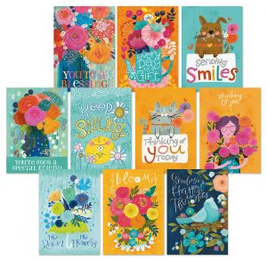 Warm Wishes Thinking of You Friendship Cards Value Pack