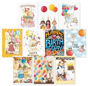 Bright Birthday Cards Value Pack