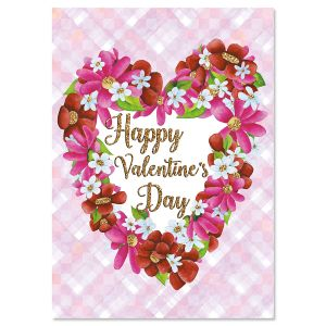 Happy Floral Valentines Day Cards