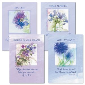 Floral Memories Sympathy Cards and Seals