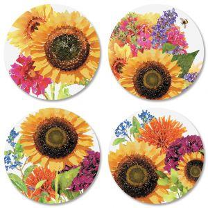 Sunflower Seals (4 Designs)
