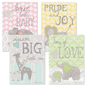 Heartfelt Baby Cards and Seals