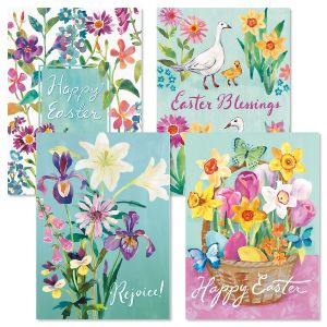Easter Blossom Faith Easter Cards
