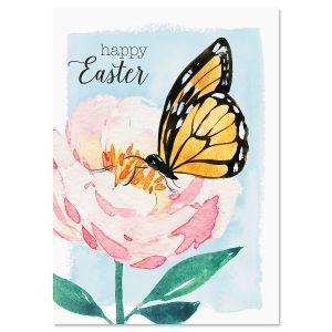 Butterfly Easter Faith Easter Cards