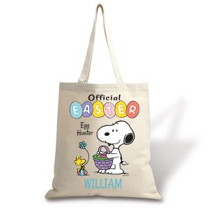 PEANUTS® Personalized Canvas Tote