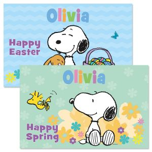 PEANUTS® Easter Personalized Kids' Placemat
