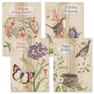 Seasons of Heart Birthday Cards and Seals