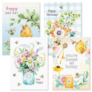 Sweet as Honey Birthday Cards and Seals
