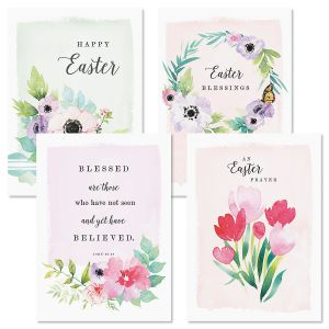 Believe Faith Easter Cards