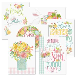 Sweet Bunny Kisses Easter Cards