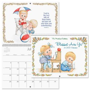 2021 Blessed Are Ye® Wall Calendar