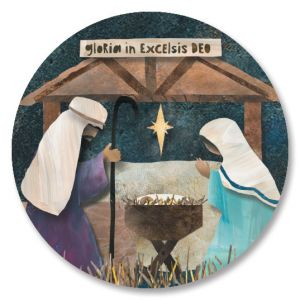 Christmas Nativity Seals