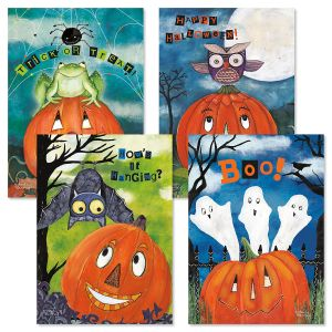 Halloween Friends Cards Fun