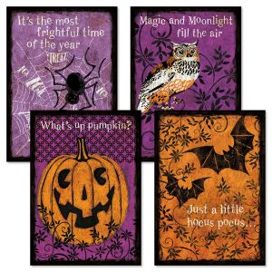 Spooky Night Halloween Cards