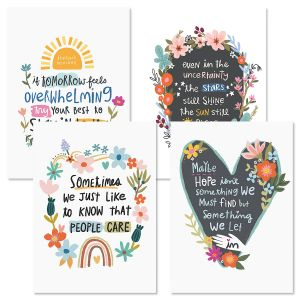 Uncertain Times Friendship Cards