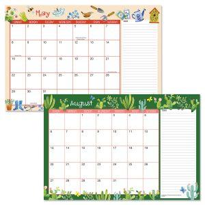 2022-2023 Whimsey Borders Calendar Pad