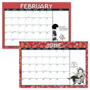 2022-2023 Mary Engelbreit® Calendar Pad