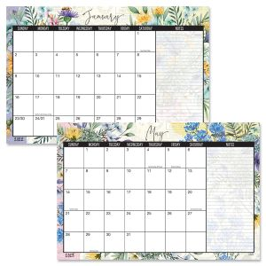 2022-2023 Wildflower Sanctuary Calendar Pad