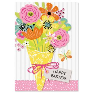Hello Spring Bouquet Easter Cards