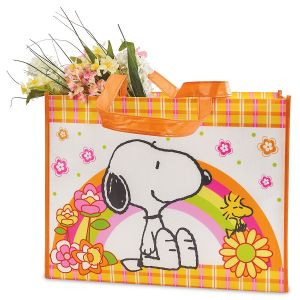 PEANUTS® Spring Fling Shopping Tote - BOGO