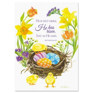 Basket of Wishes Faith Easter Cards
