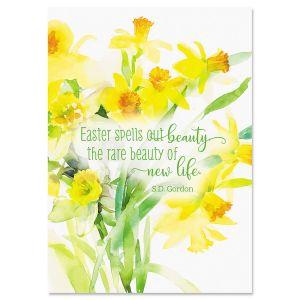 Easter Faith Daffodil Easter Cards