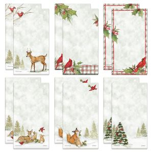Peaceful Forest Magnetic Shopping List Pads