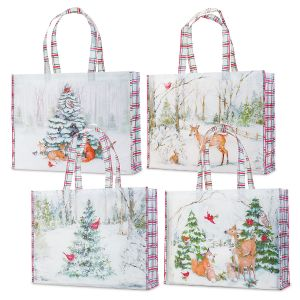Peaceful Forest Shopping Totes
