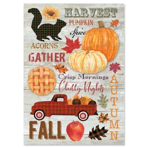 Many Blessings ThanksgivingCards