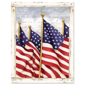 Old Glory Note Cards