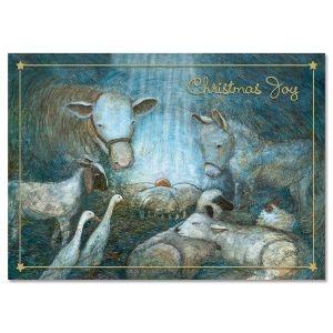 First Christmas Religious Christmas Cards
