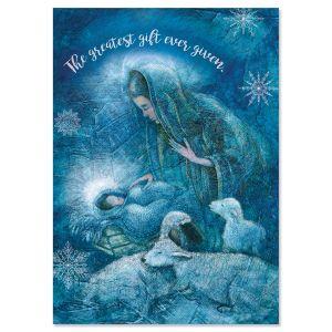Madonna Religious Christmas Cards