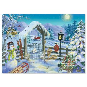 Winter Gate Christmas Cards