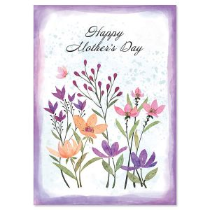 To Mom Flourish Mother's Day Card