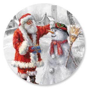 Santa & Snowman Seals