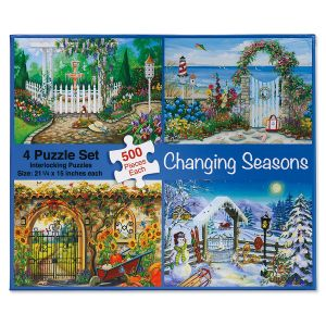 4-in-1 Changing Seasons Puzzle