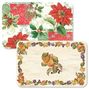 Christmas Collage/Autumn Placemats