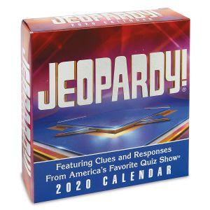 Jeopardy 2020 Calendar