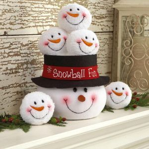 Indoor Snowball Fight Fun Set