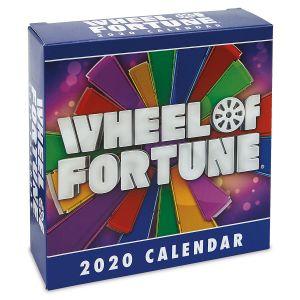 Wheel of Fortune  2020 Calendar
