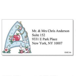 Mary Engelbreit® Initials Border Address Labels