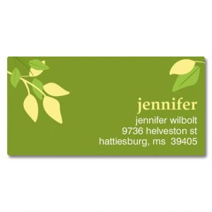 Sage Advice Border Address Labels
